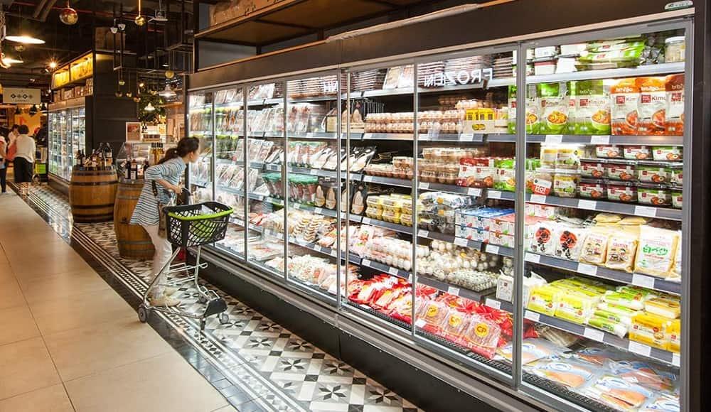 lỗi thường có ở tủ siêu thị