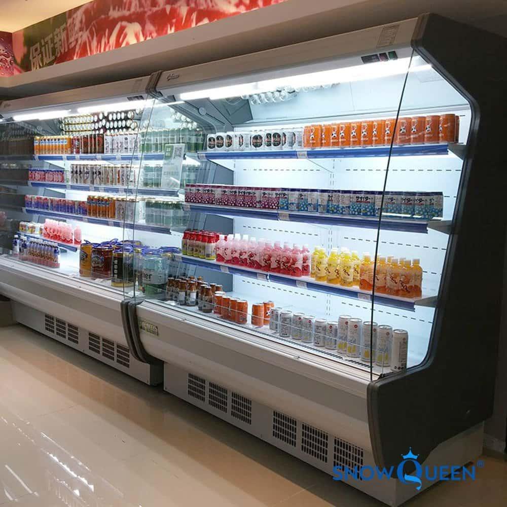 tủ mát siêu thị trưng bày rau quả SnowQueen