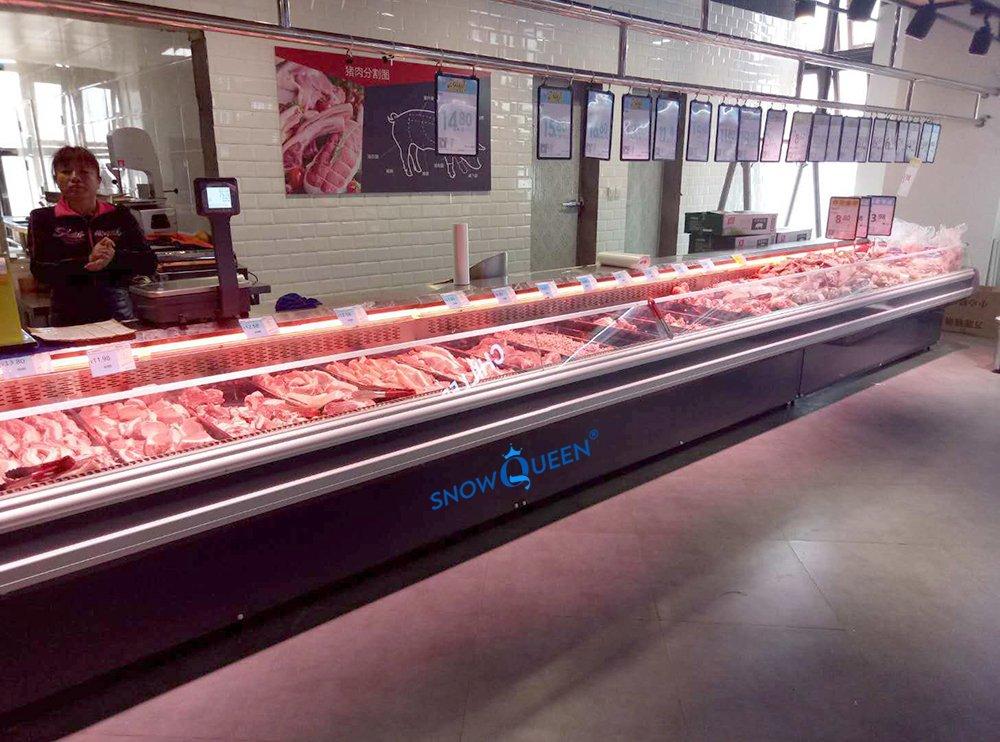 tủ trưng bày thịt cá SnowQueen