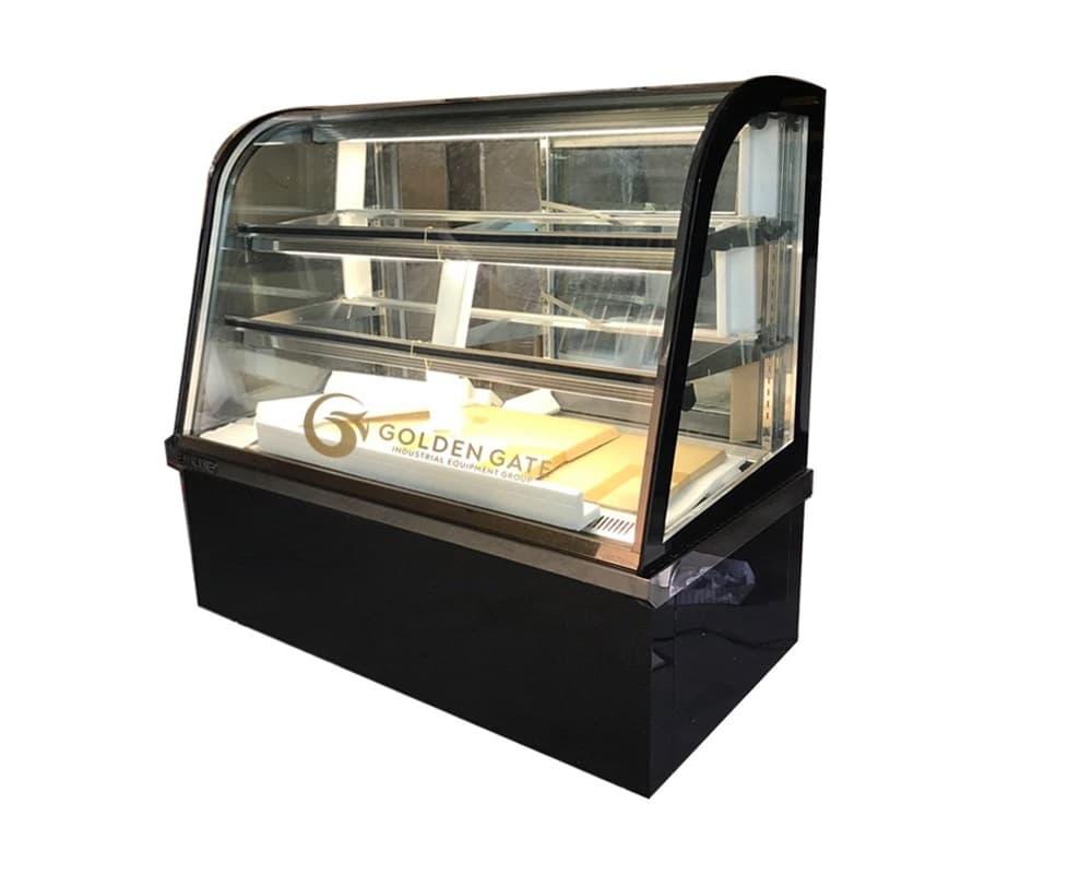 Tủ bánh kem kính cong Berjaya