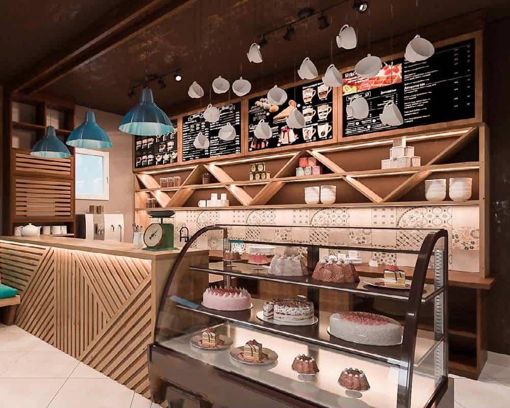 tủ trưng bày bánh kem kính cong thanh lý