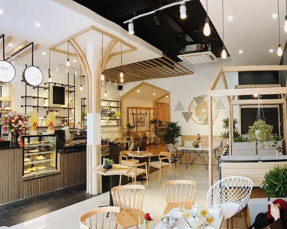 Tủ trưng bày bánh mini đẹp Hà Nội