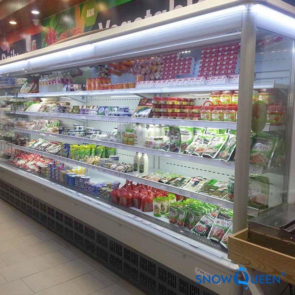 tủ mát hoa quả không cửa