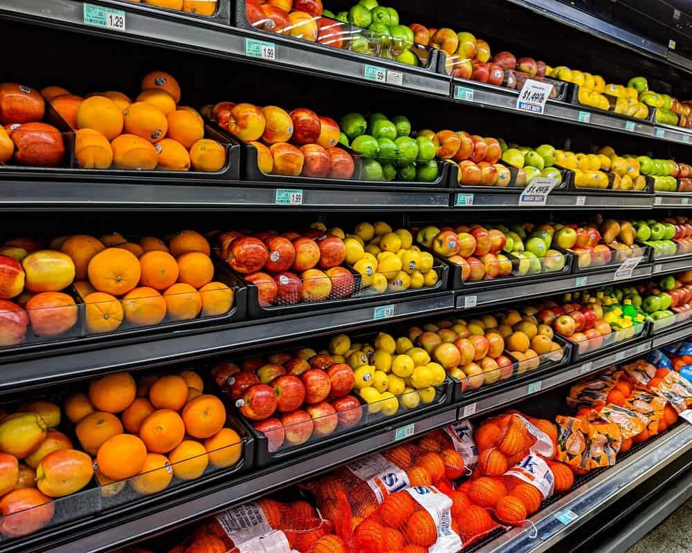 tủ mát hoa quả siêu thị giá rẻ