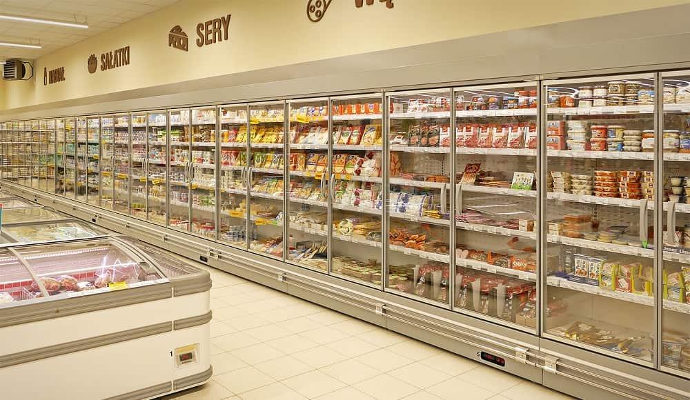 giá tủ mát siêu thị mới nhất