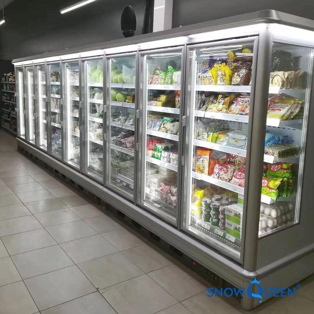tủ đông siêu thị 3 cánh