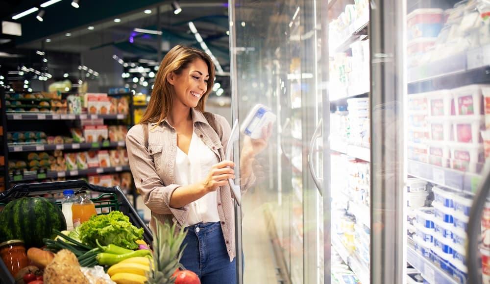 tủ mát 3 cánh siêu thị giá rẻ