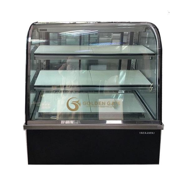 Tủ bánh kem Berjaya 3 tầng kính cong 1m2 model CCS12SB13 - 2FB